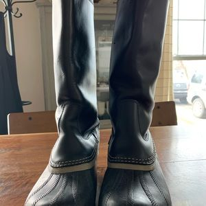 Sorel slimpack tall riding boot size 9